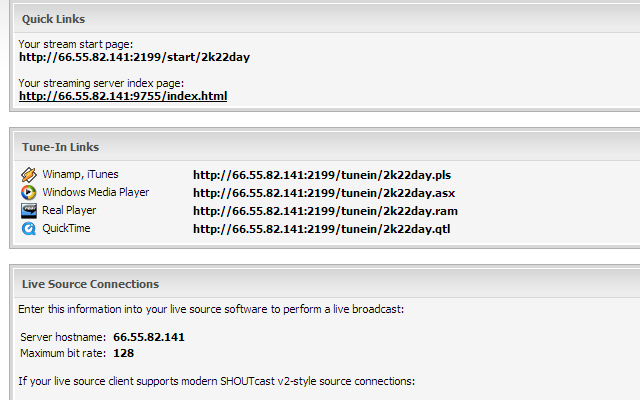 Server Audio Streaming SHOUTacst ICEcast Streaming Player HTML5 Free - HTTPS SSL Player Audio