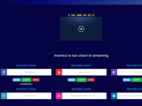 Server Video Streaming Cloudtv Playlist Video Web TV Scheduler Video Server Streaming Video Wowza Piattaforma Video RTMP Streaming